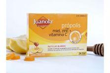 Juanola Própolis con Miel, Zinc y Vitamina C 24uds