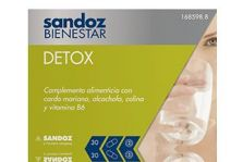 Sandoz Bienestar Detox 30 Cápsulas