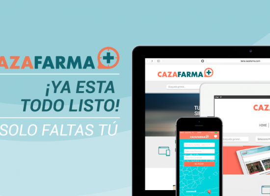 ¡Ya puedes descargar la App de Cazafarma!