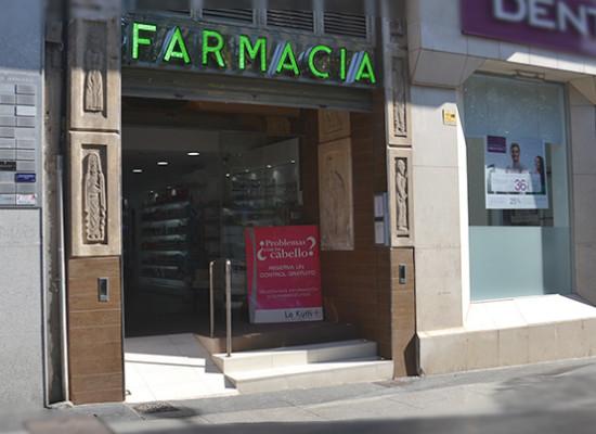 Farmacia Plaza García, en el corazón de Almería