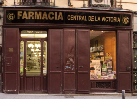 Farmacia Victoria, una botica centenaria junto a Puerta del Sol