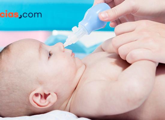 Cómo limpiar los mocos de tu bebé