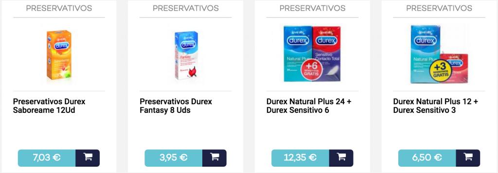 preservativos durex farmacias.com