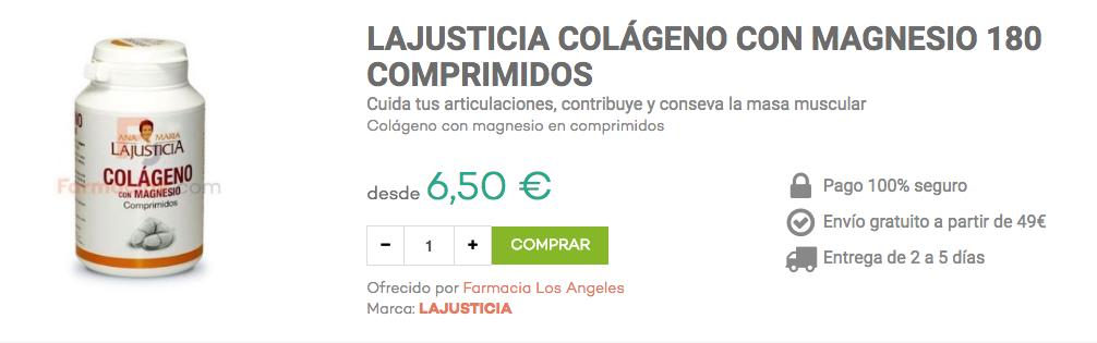 colágeno con magnesio ana maria lajusticia farmacias.com