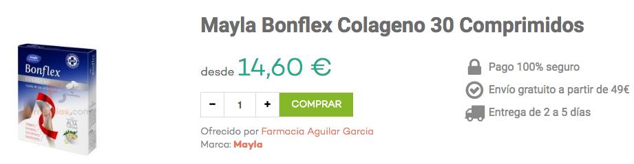 mayla bonflex colágeno farmacias.com