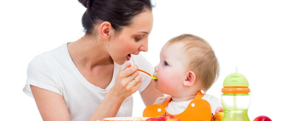Alimentación del bebé por etapas