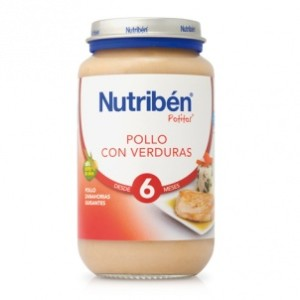 Comprar Nutribén Potito Pollo con verduras farmacias