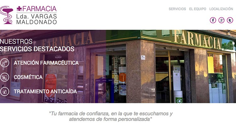 farmacias en Internet Farmacias.com